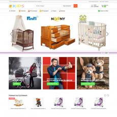 Облачный интернет-магазин детских товаров