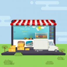 Готовый интернет-магазин детских игрушек